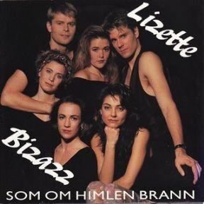 Lizette Pålsson* Lizette·& Bizazz - Som Om Himlen Brann